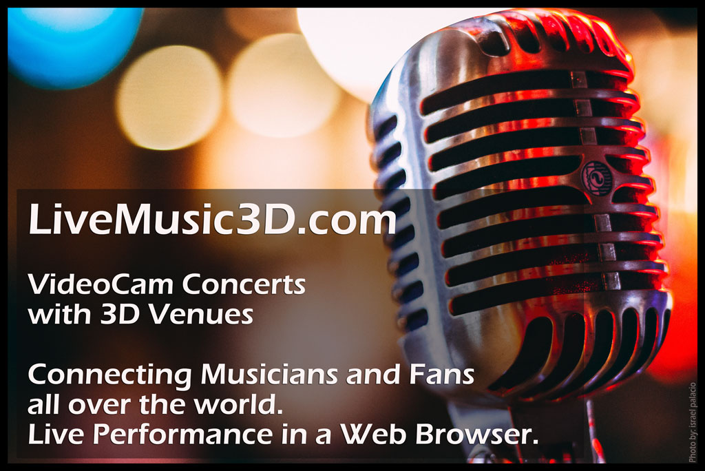 Musicians and Music Lovers joining together for a truly unique live video concert experience.